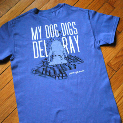 Dog Digs Del Ray T-Shirt Violet